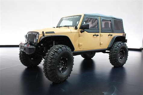 sand jeep for jeep wrangler sand trooper ii concept photo gallery autoblog