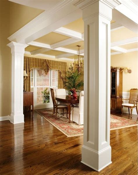 Dining Room Molding Moulding On Columns Building A House Pinterest The Floor Ceiling Design And Martin O Malley