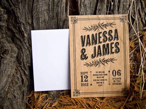 wood wedding invitations 10 inspiring wedding invitation designs designbent