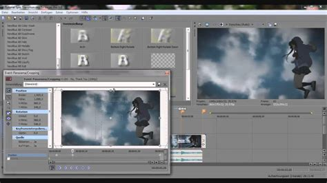 tutorial vegas pro 9 0 sony vegas pro 9 0 tutorial spin transition with