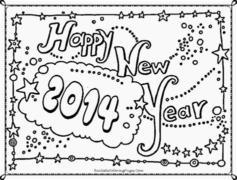 new year color page 2016 free coloring pages new year 2014 coloring page happy new