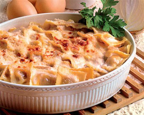 ricette con panna da cucina primi piatti ravioli gratinati alla panna cucina