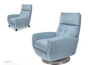 wonderful Leather Reading Chair And Ottoman #9: 6-GAVIN-Blue-Recliner-Relaxer-chair.jpeg