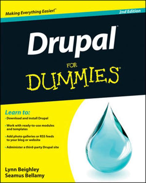 drupal for dummies 2nd edition drupal org