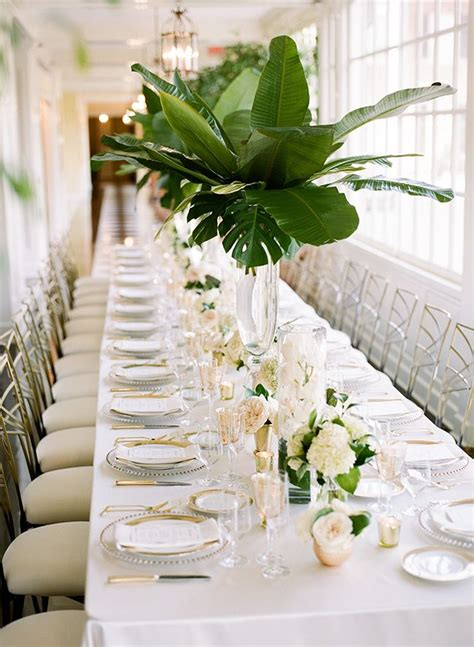 green gold decorations 25 best ideas about green wedding centerpieces on