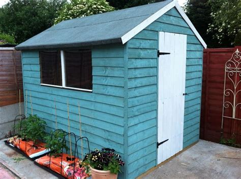 shed cuprinol shades seagrass garden ideas