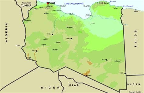 where is libya on the world map map of libya maps worl atlas libya map maps