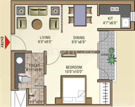 celebrity home floor plans 550 sq ft 1 bhk 1t apartment for sale in aditya gzb