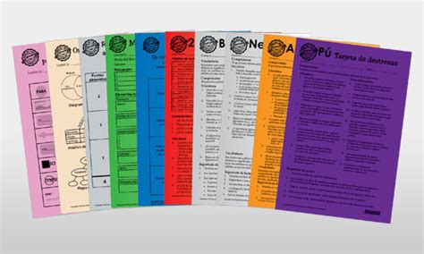 100 Book Challenge Skill Cards Printable