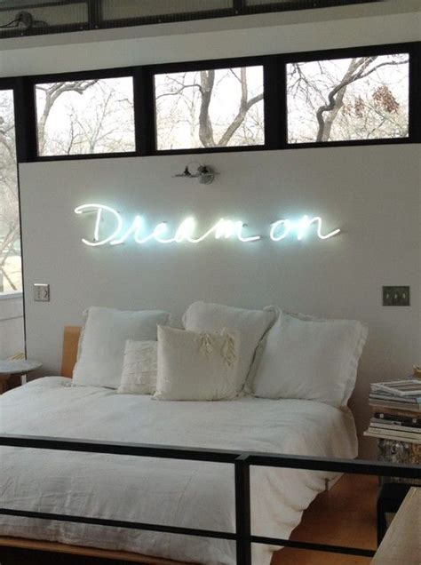 bedroom neon lights dream on neon sign bedroom bedroom pinterest