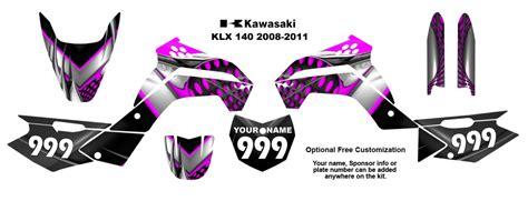 Decal Striping Sticker Klx 025 Glossy ebay
