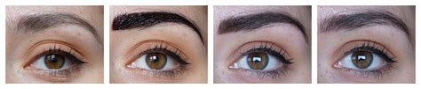 tattoo eyebrows maybelline review maybelline tattoo brow dark brown review beautyill