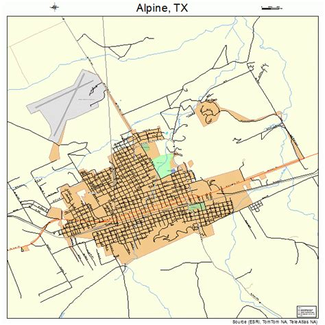 map alpine texas alpine texas map 4802104