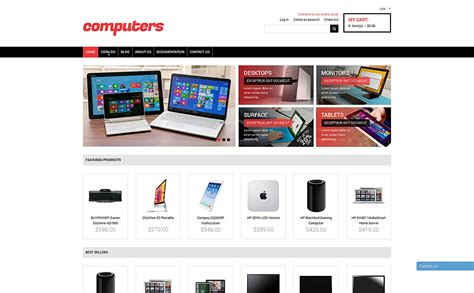 buzz themes computer store computer store responsive shopify theme 50112