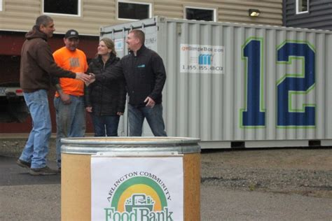 Arlington Food Pantry by Simple Boxes Help After Devastating Mudslide Simple