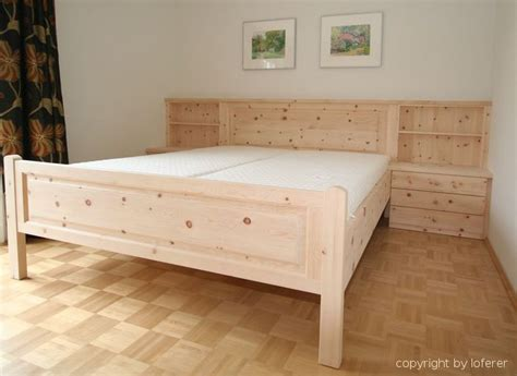 schlafzimmer zirbe schlafzimmer aus zirbenholz walchensee komplette