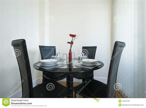 dining table setup formal dining table set up royalty free stock image