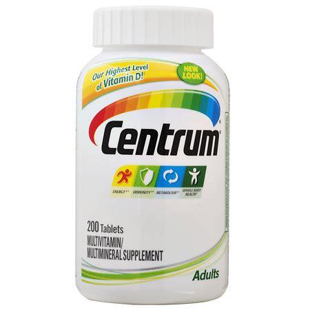 Vitamin Centrum centrum adults multivitamin tablets walgreens