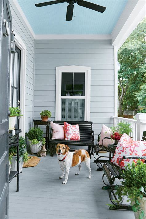 charleston home porch southern living this 1930 s charleston cottage gets an incredible makeover