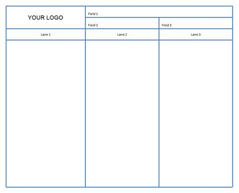 swim flowchart template cross functional flowchart swim lanes breezetree