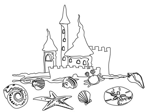 coloring book pages beach free printable beach coloring pages for kids