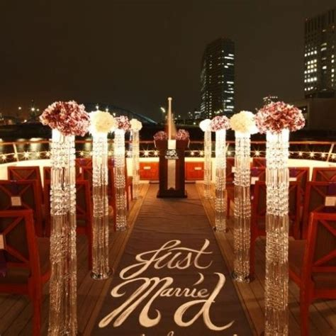 Cruises The Aisle by Beautiful Aisle Markers Event Decor Unique