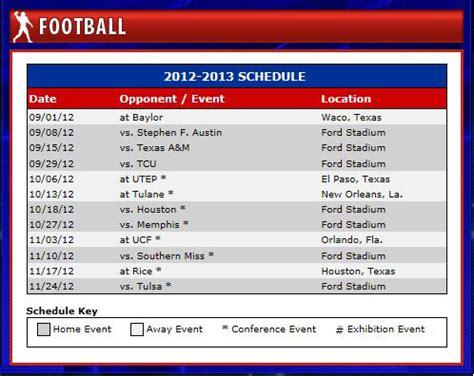 smu mustangs schedule smu sets 2012 football schedule smu