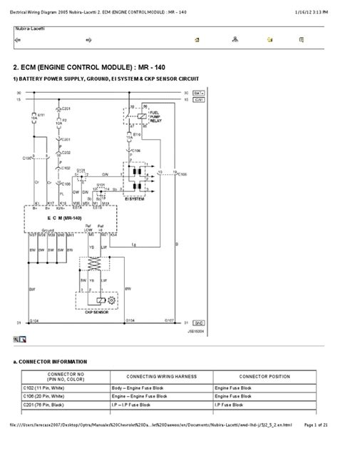 chevrolet optra wiring diagram wiring diagram with