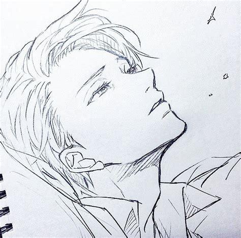 sketchbook anime bepo yuri on victor nikiforov yurionice arts
