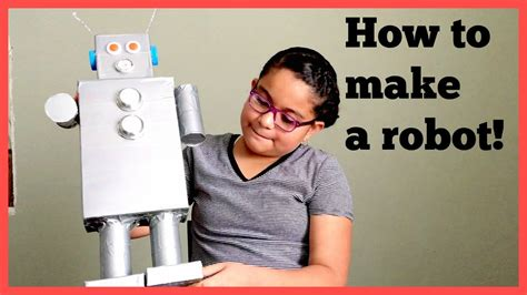 How To Make A Paper Robot - how to make a recycled robot homework