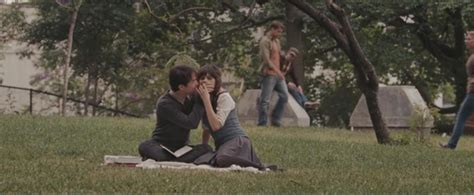 park bench scene the quot 500 days of summer quot bench iamnotastalker