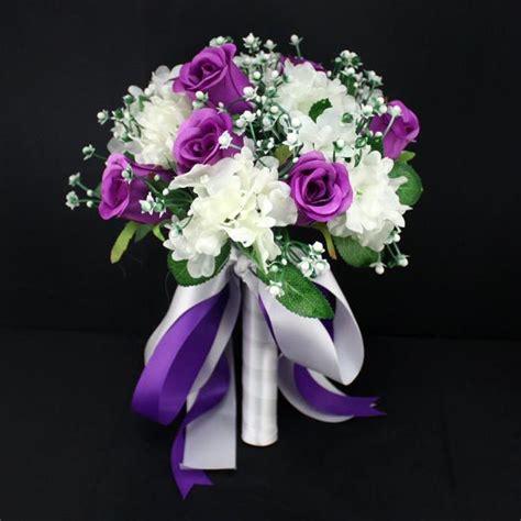 Handmade Bridal Bouquets - new flower wedding bouquet bridal ribbon handmade