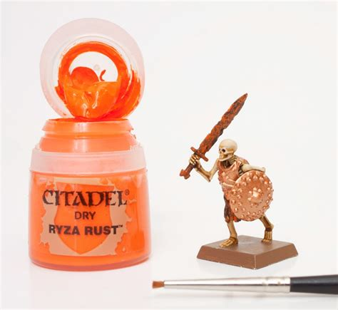 Ryza Rust review citadel technical paints tutorial skeleton warrior bell of lost souls