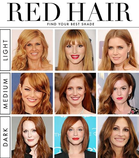 best shade of red how to find your best shade of red hair hair shades