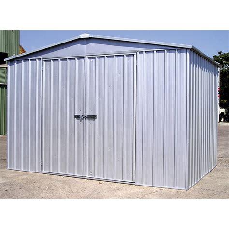 Absco Shed by Absco Sheds 3 0 X 3 66m Zinc Door Regent Shed I N