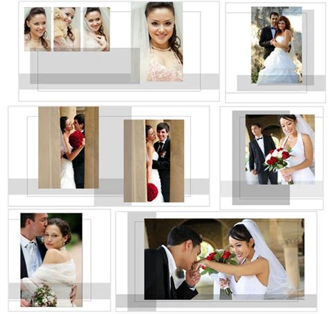 Wedding Photo Album Design Templates Adobe Photoshop by Album Custom Templates Arc4studio