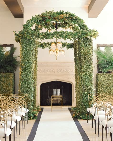13 Chuppah Ideas From Jewish Wedding Ceremonies   Martha