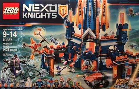 lego nexo knights knighton castle set review pictures