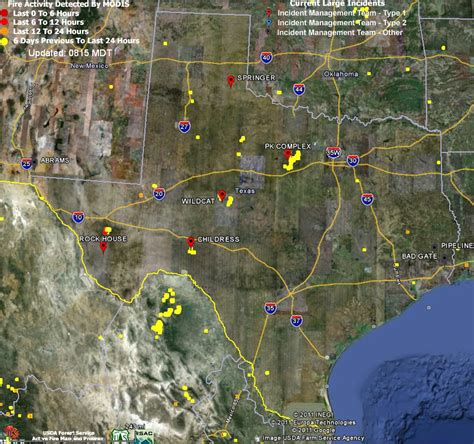 texas wildfire map texas map my