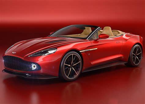 Aston Martin Vanquish Zagato Volante revealed at Pebble