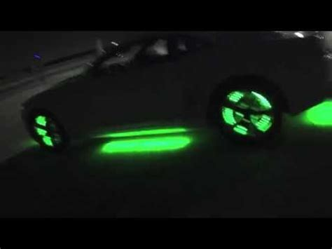 2012 chevy camaro with ledglow underglow and wheel well