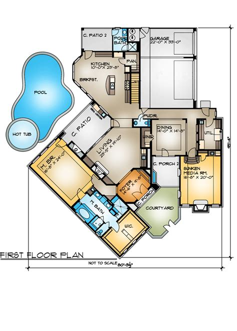 cul de sac floor plans the cariati 4262 4 bedrooms and 5 baths the house