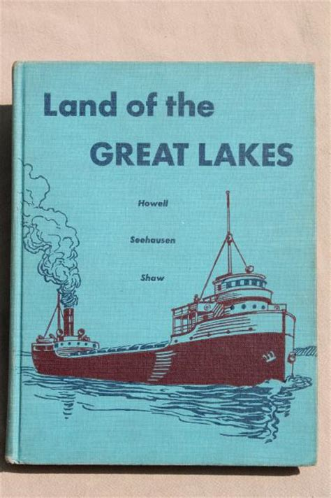 of the lakes great lakes books series books land of the great lakes 1950s vintage midwest geography