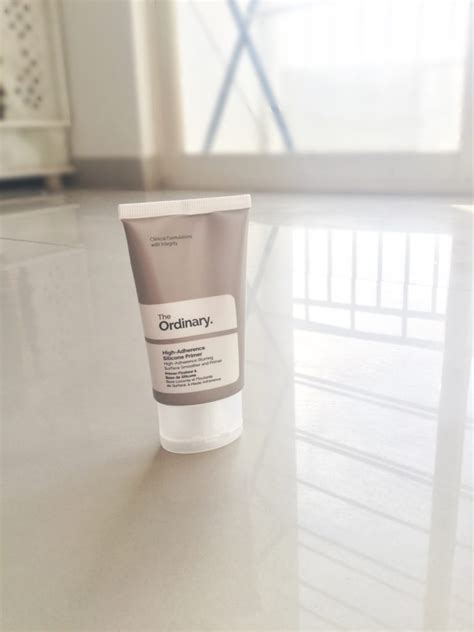 The Ordinary High Adherence Silicone Primer The Ordinary Primer the ordinary high adherence silicone primer review makeup smiles