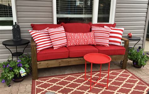 Annas Furniture by White S Outdoor Sofa Diy Projects