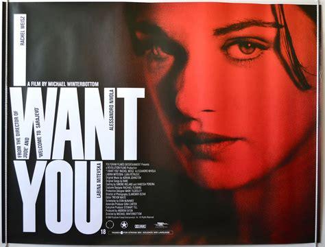 i want you i want you 1998 original quad film poster rachel weisz