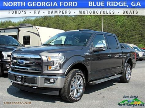 Ford Truck Bench Seat by 2017 Ford F150 Lariat Supercrew 4x4 In Magnetic B98472