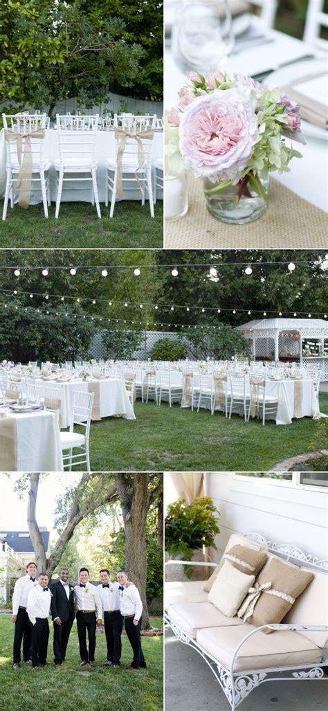 backyard wedding setup ideas backyard danville wedding from angie silvy photography