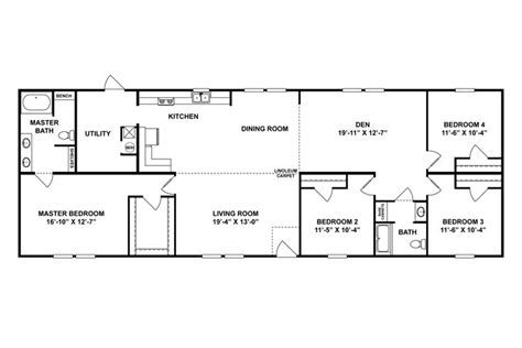 interactive floor plan clayton homes rectangle house