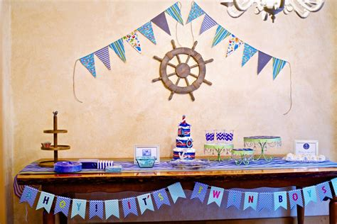 nautical baby shower theme decorations nautical themed baby shower ideas artful homesteader